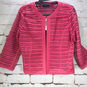 MK GRAYSE Leather Jacket, NWT